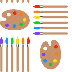 Palettes & Brushes