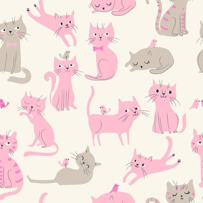 Cats01_pink and gray