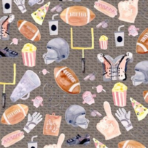 American Football | Grey texture