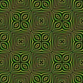 Clover Cross//Mustard Green