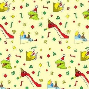 Christmasaurus Cream Mini