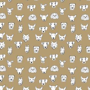 Best Friends - My Pet Dog Illustration - Coffee