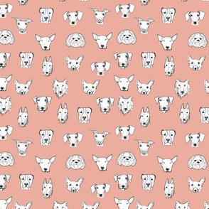 Best Friends - My Pet Dog Illustration - Rose