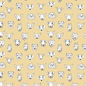 Best Friends - My Pet Dog Illustration - Biscuit