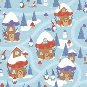 Gnomes Winter Village