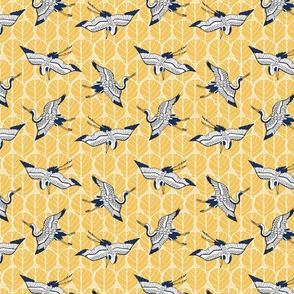 Cranes - Yellow