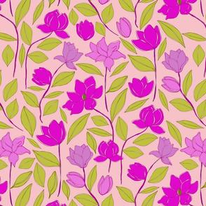 Magnolias (for fabric)