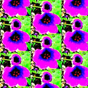 Purple Flower 2 POP