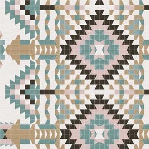Vintage Geometry - Southwestern Mood / Large