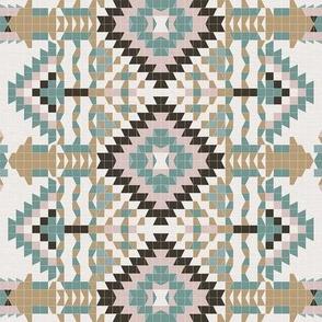 Vintage Geometry - Southwestern Mood / Small