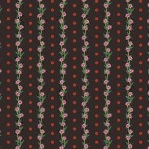 Mini Whimsical Stripe Brown
