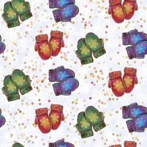 winter pattern, kids pattern, bright pattern, glitter winter, winter holidays, christmas for children, glitter pattern, winter walk, cute winter, knitted mittens, winter stuff, lovely winter, kid pattern, christmas for kids