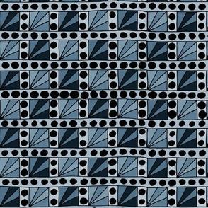 Broadway Lights - Blue Grey
