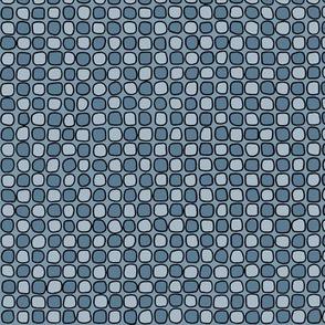 Cobblestones - Blue Grey
