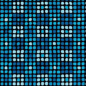 Cobblestones - Bright Blue