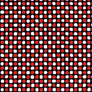Cobblestones - Red and Black