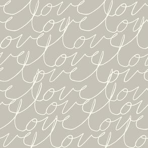 Love lines (beige)