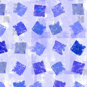 Square on Square Sm Square Grid Purple