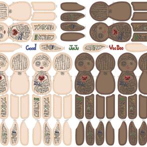 Voo Doo Doll Ivory_Cocoa Patten Yard 2020