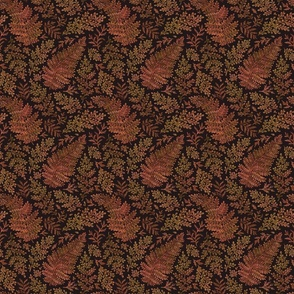 Autumnal ferns (small)