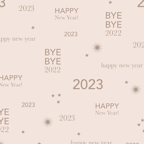 Happy new year 2021 - exit 2020 typography abstract minimalist text design