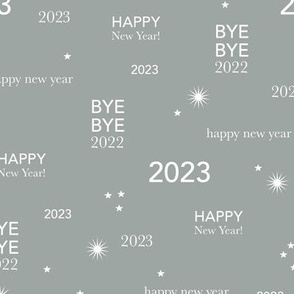 Happy new year 2021 - exit 2020 typography abstract minimalist text design bright lilac purple white