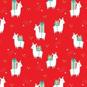 Little Christmas Llamas