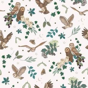 Owls Pattern Daytime