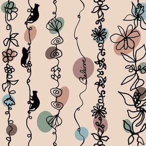 Cats Climbing Curtains