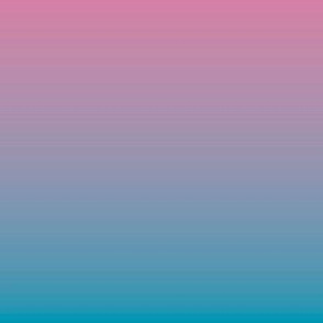Ombre minimalist color block bright pink to purple and blue