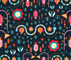 A colourful microscopic world