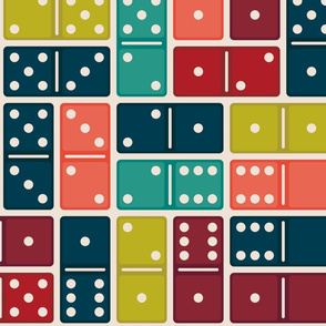 Colorful Dominos Large