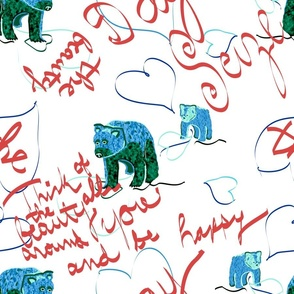 Seize the Day Bears blue white