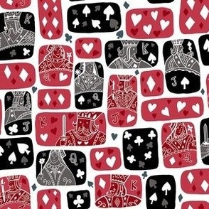 Queen of Hearts- she plays to win- Mask scale