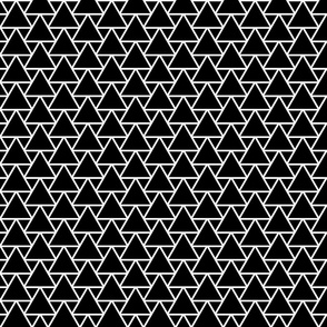 geometric, black and white, abstract, geometric pattern, abstract pattern, triangles, exquisite, strong, austere, shapes, lines, dark, ascetic