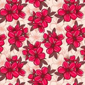 Cherry blossom - red 2