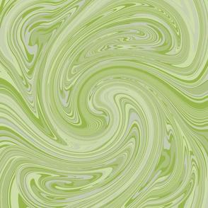 Grey-green marble
