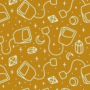 Magic Tea White on Gold