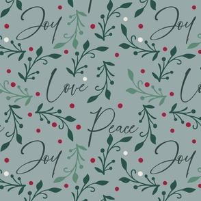 Christmas Love Joy Peace Design