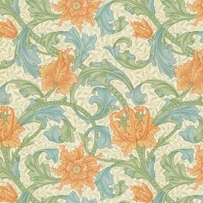 William Morris ~ Single Stem  ~ Original  ~ Medium