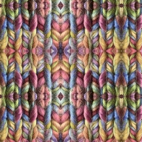 Colorful Plaid Knit
