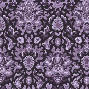 _Victorian underwater tropics (purple)