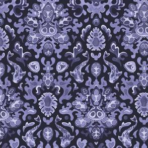 Victorian underwater tropics (violet)