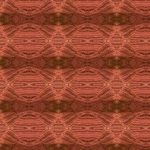 Burnt Orange Bow Tie Knit