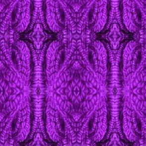 Delicate Diamond Knit in Purple