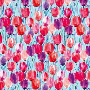 tulips blue M