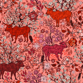 Springtime in the Year of the Ox