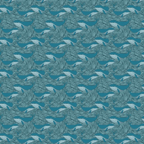 Blue Whales & Waves (small)