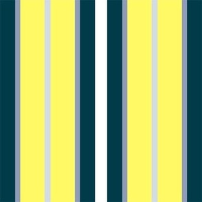 Foggy Morning Multi Stripe