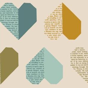 I Heart Books Cream II